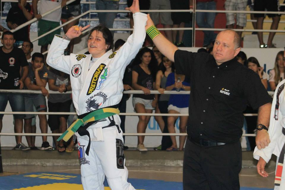 Talita Treta no Brasileiro 2014 Foto Jessica Barbosa
