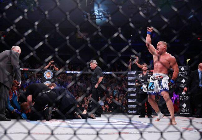 Jiu-Jitsu no MMA: o katagatame de Tito Ortiz no Bellator 120