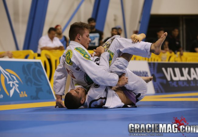 """Worlds 2014: """"American Miyao"""" Mikey Musumeci conquers the purple belt light-featherweights"""