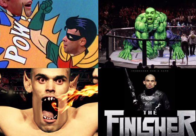 Vídeo: Veja Renan Barão como super-herói na promoção do UFC 173