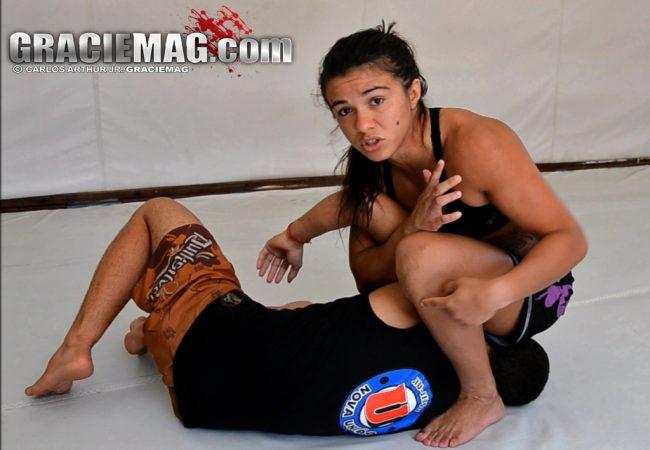 Jiu-Jitsu: Aprenda o armlock de Claudinha Gadelha, atleta do UFC