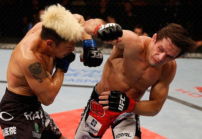 Rodrigo Damm busca quebrar sequência de Magomedov. Foto: UFC/Divulgação