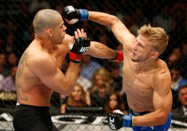 UFC 173: Dillashaw dominates Barão on five rounds and wins the bantamweight belt by TKO