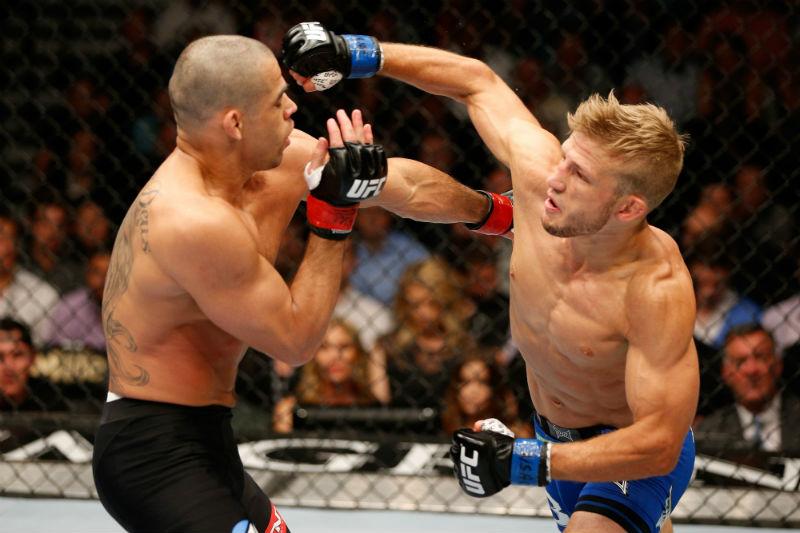 Dillashaw venceu  Renan Barão e é o novo campeão do UFC. Foto: UFC.com
