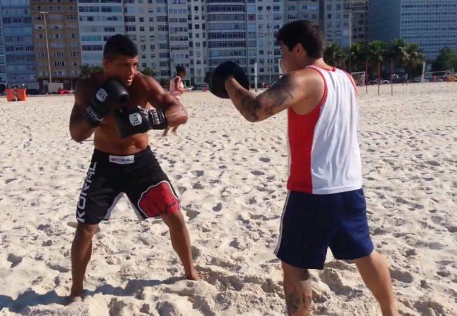 Vídeo: Fera do Jiu-Jitsu, Durinho afia o boxe para o Face to Face 7