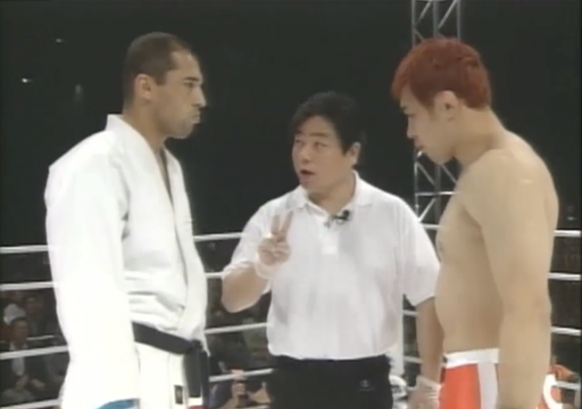 History: 14 years ago today Royce and Sakuraba met in Japan