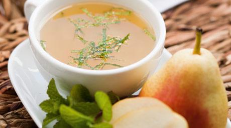 Mint, Pear and Chamomile Tea