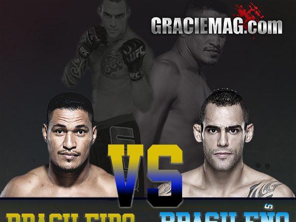 Marajó x Ponzinibbio e mais astros brasileiros escalados no UFC