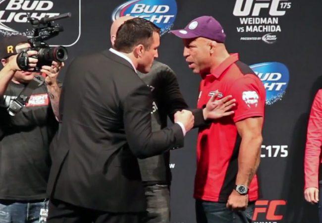 Vídeo: Wand e Sonnen se estranham mais uma vez, na encarada do UFC 175