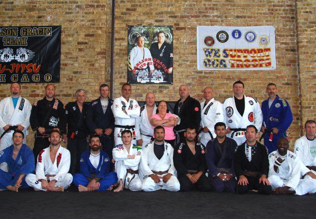 Carlson Gracie Jiu-Jitsu team gathers at headquarters in Chicago