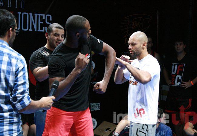 Galeria de fotos: os melhores lances do seminário de MMA de Jon Jones no Brasil