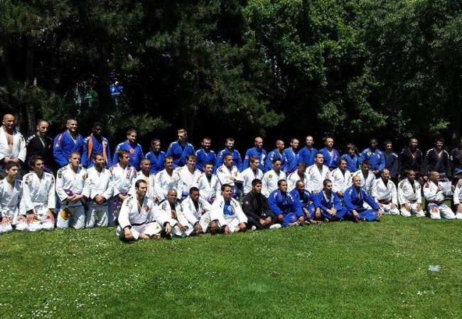 Icon Jiu-Jitsu Team hosts ceremony to promote 95 students to a new belt