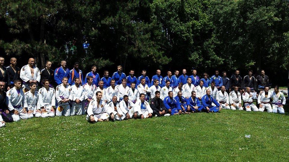 Icon Jiu-Jitsu Team group picture. Photo: personal archive