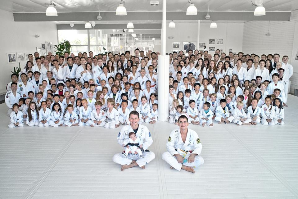 A academia Art of Jiu-Jitsu liderada pelos Mendes. Foto: Owen Francis