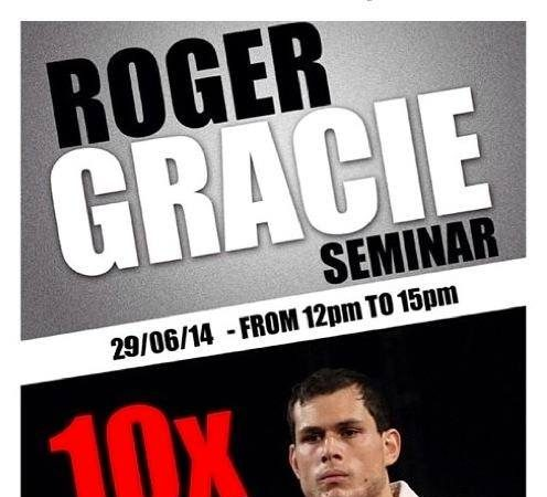 Ten-time world champion Roger Gracie seminar at Renzo Gracie NYC on June 29