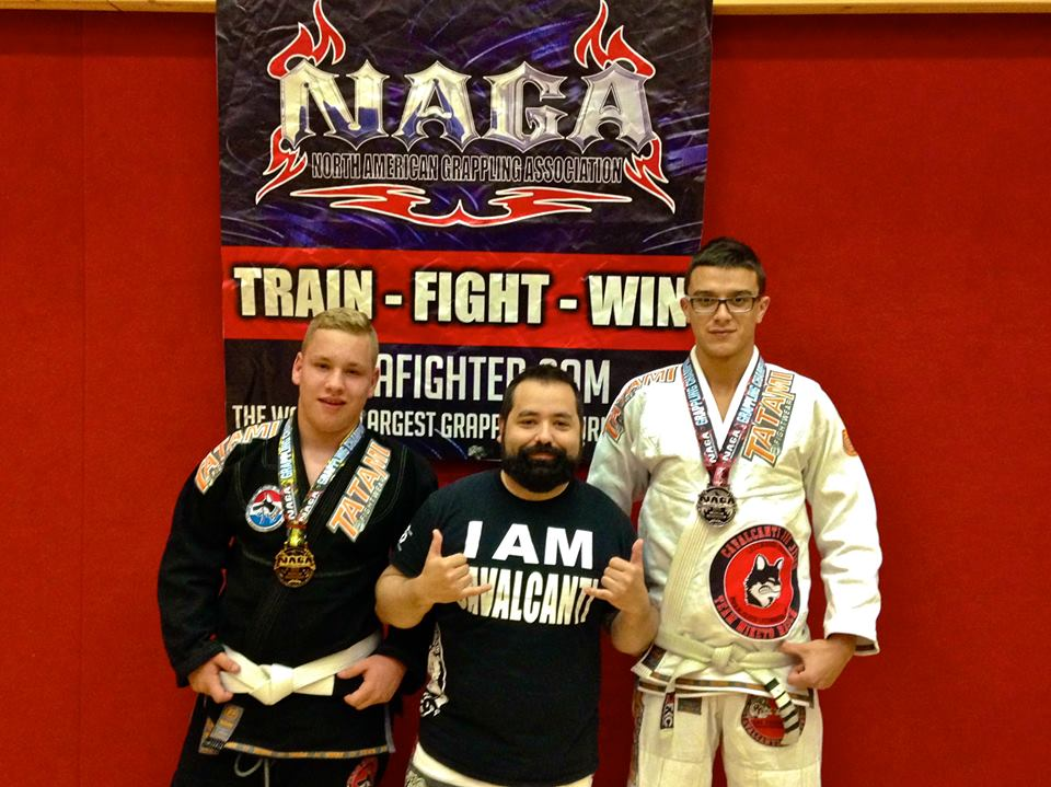 GMA Cavalcanti Jiu-Jitsu Luxembourg at NAGA Germany. Photo: Personal archive
