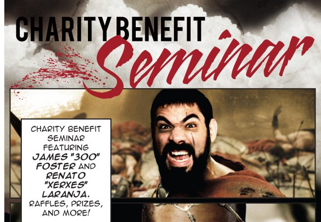 Join Renato Laranja and James Foster for autism awareness at Seaside Jiu-Jitsu July 12
