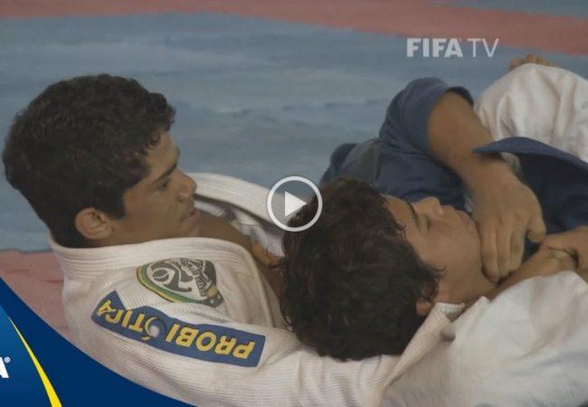Durante Copa, Fifa destaca o Jiu-Jitsu brasileiro em vídeo