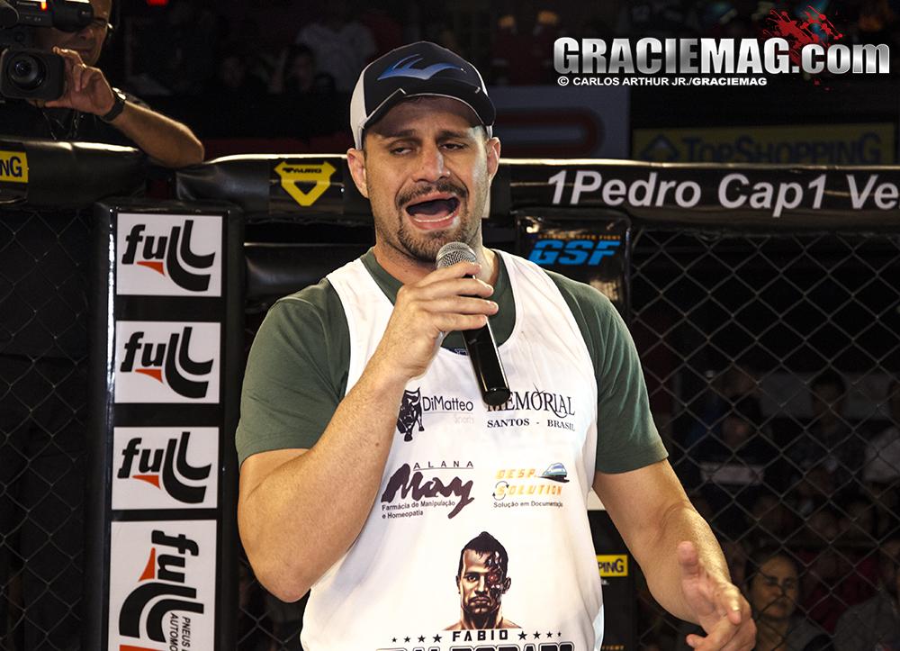 Fabio Maldonado se desculpa pela derrota no TUF Foto Carlos Arthur