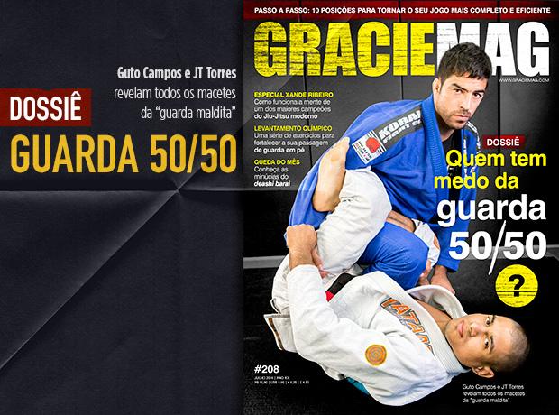 A guarda 50/50 é destaque na edição #208 de GRACIEMAG