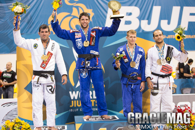 The 2014 Worlds open class podium with Keenan, the first American to place third in the division