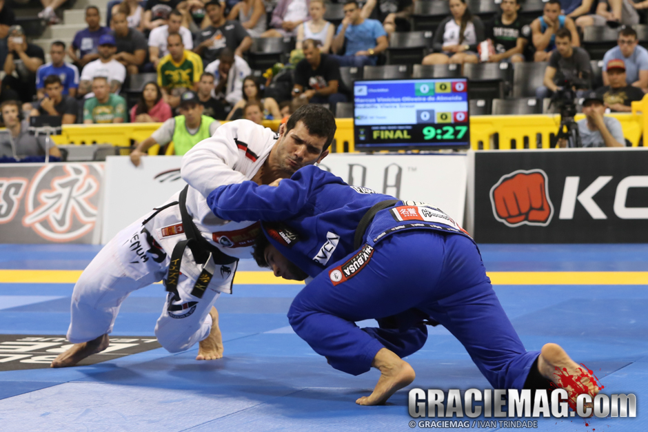A great judoka, Rodolfo also bet on the takedown to score first