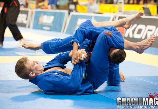 Referee comments Keenan's disqualification in the Worlds 2014