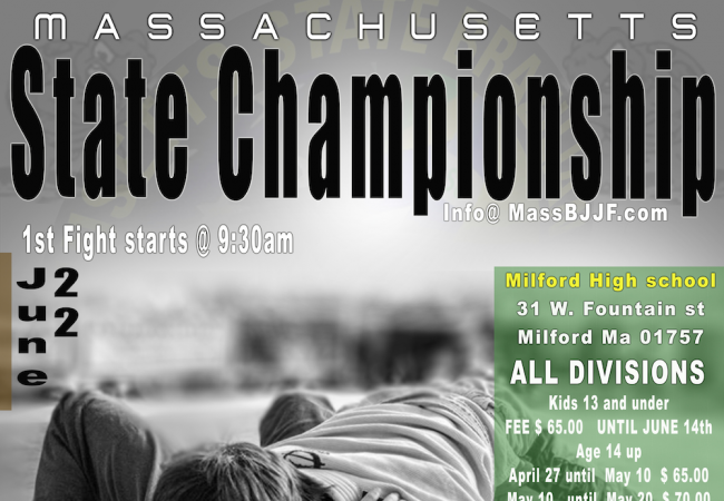 East coast: Sign up now for the Massachusetts State Championship 2014 on June 22