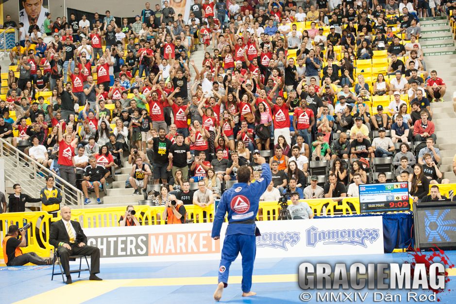 Gracie Barra is second in the overall count of titles at the Worlds adult division