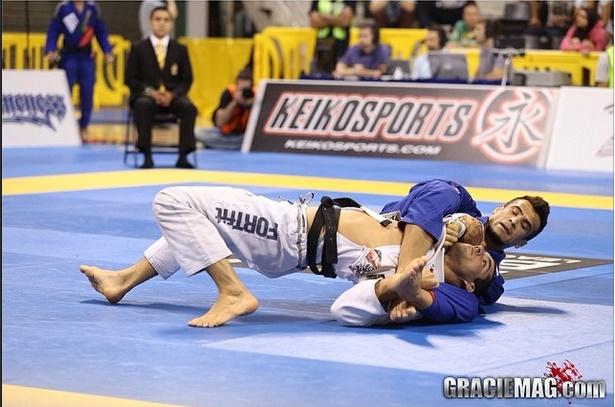 A pressão de Rubens Cobrinha sobre Italo Lins no Mundial 2014