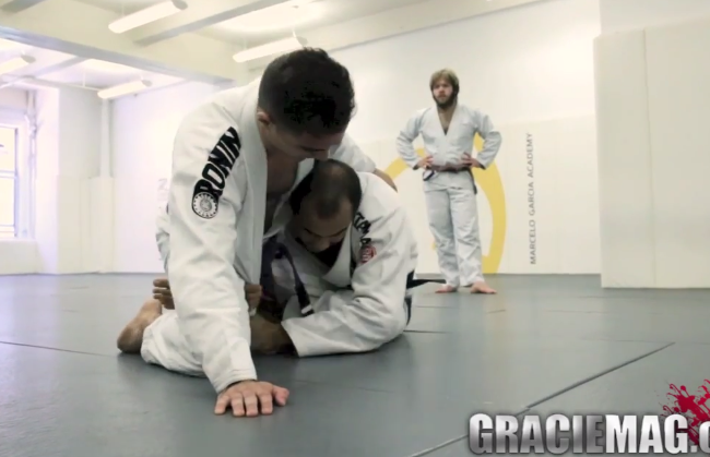Exclusive video: Bernardo Faria shows two drills for entering deep half guard