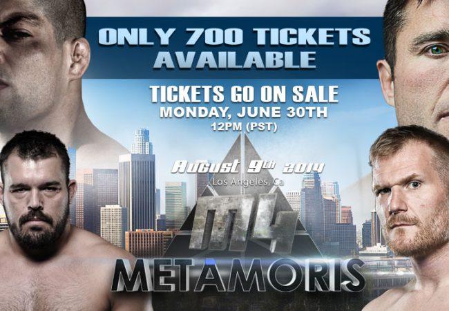Metamoris 4: watch the official trailer for Galvão vs. Sonnen, Lister vs. Barnett
