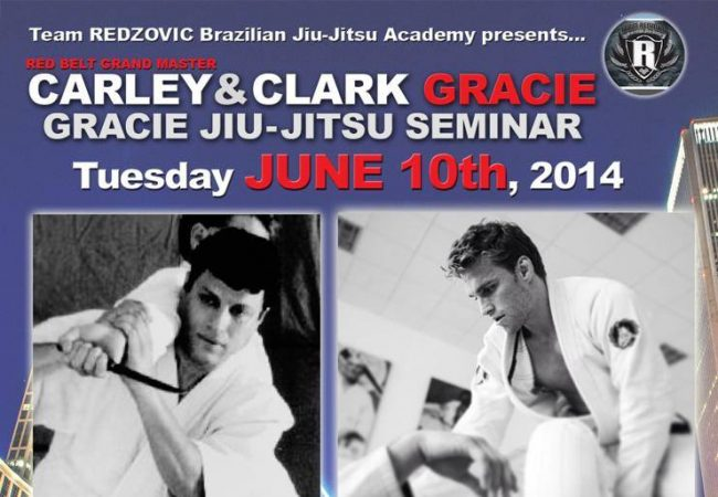 Learn from Carley Gracie & Clark Gracie at Team Redzovic BJJ seminar June 10