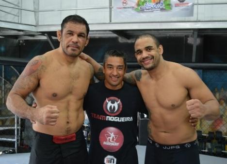 O dia em que Minotauro finalizou o veterinário Feijão e o levou pro MMA