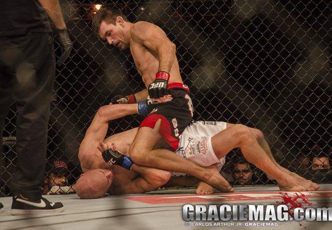 Faixas-pretas Demian Maia e Thales Leites representam o Jiu-Jitsu no UFC em agosto