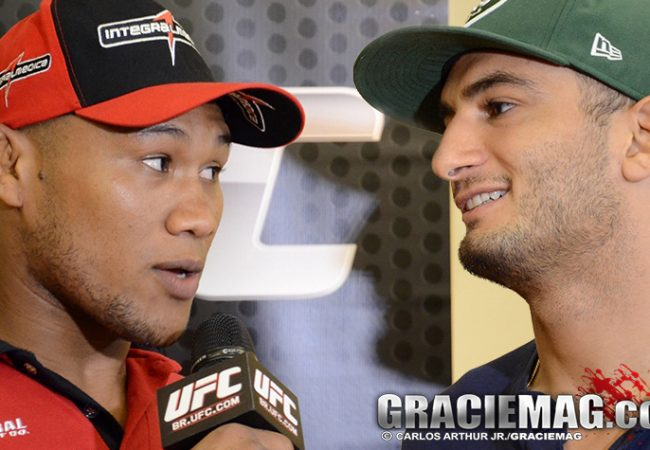 Countdown: watch how Jacaré and Mousasi prepared for UFC Fight Night Mashantucket