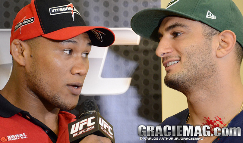 Jacare vs Mousasi on August 2