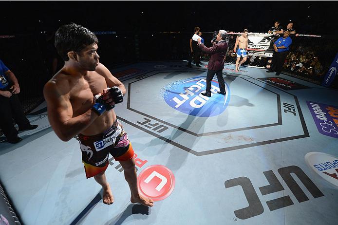 Lyoto Machida luta neste sábado, 18 de abril. Foto: UFC