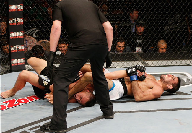 Leandro Brodinho comments victory with straight armbar in the UFC