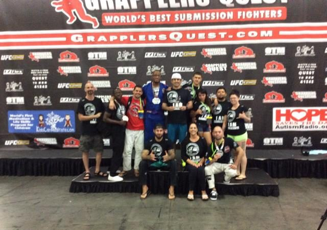 GMA Cavalcanti Carlson Gracie Team takes home another team trophy at Grapplers Quest
