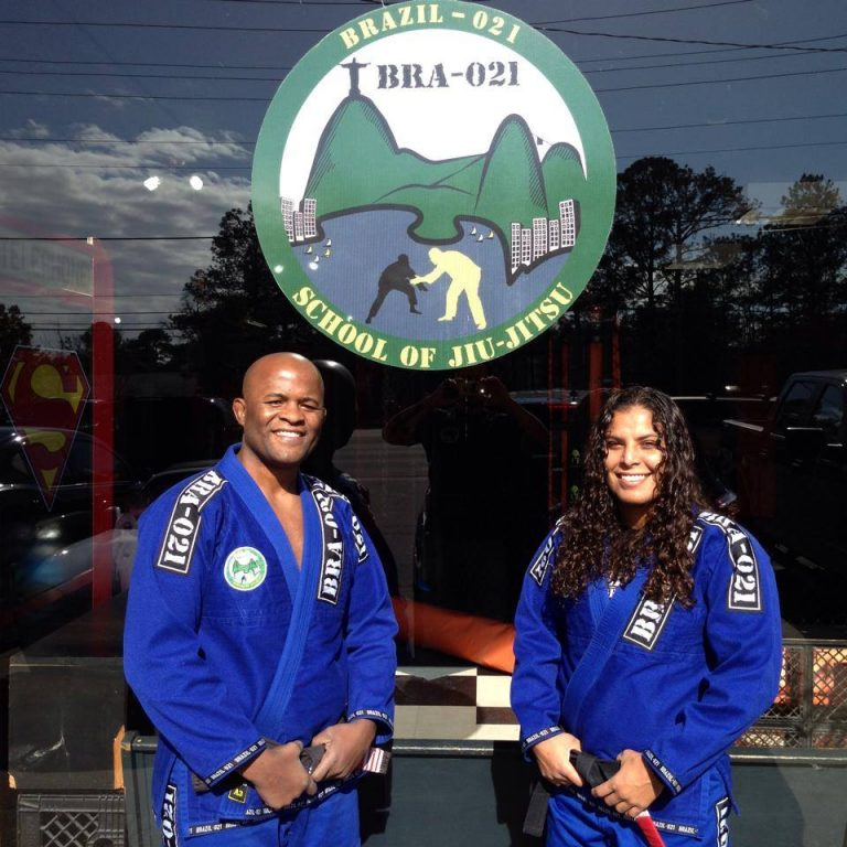 Black Belt Andre Terencio and Hannette Staack