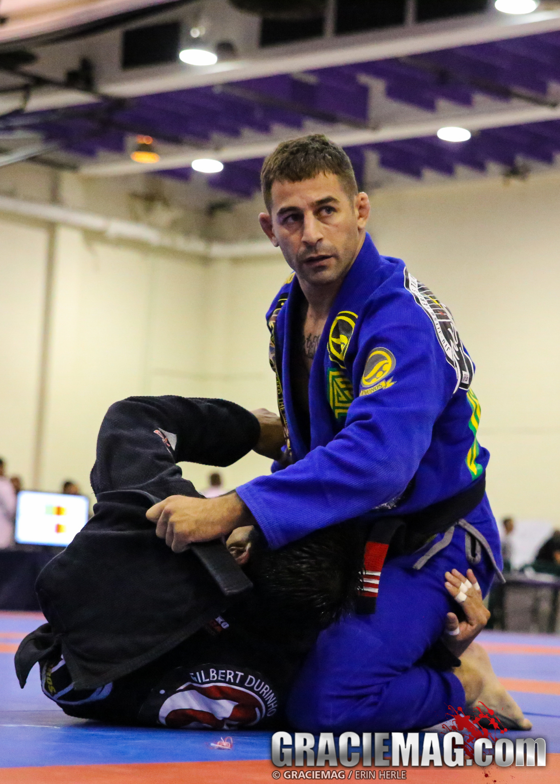 Jared Weiner competing at the NY Open. Photo: Erin Herle