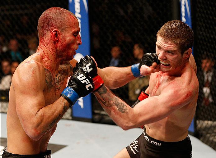 Em seu debute no Ultimate, Perpétuo foi superado na decisão dividida. Foto: UFC