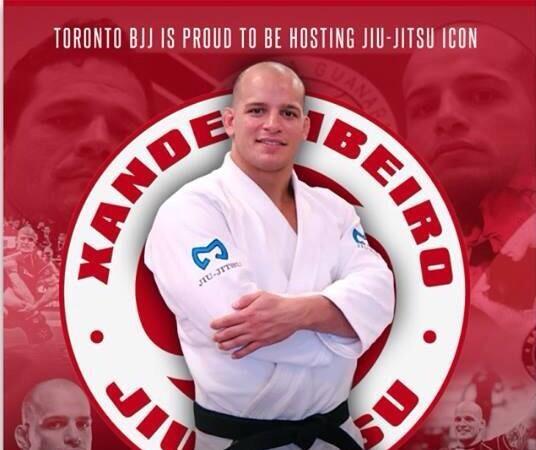 Xande Ribeiro to teach two seminars on July 26 & 27 at GMA Toronto BJJ