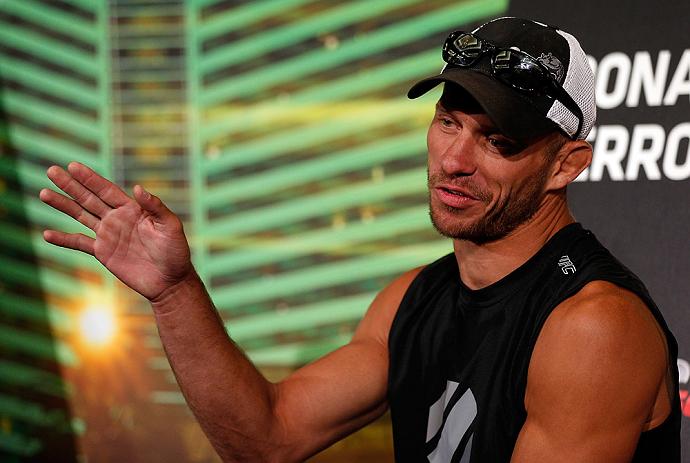 Donald Cerrone nos bastidores do UFC 160 Foto UFC
