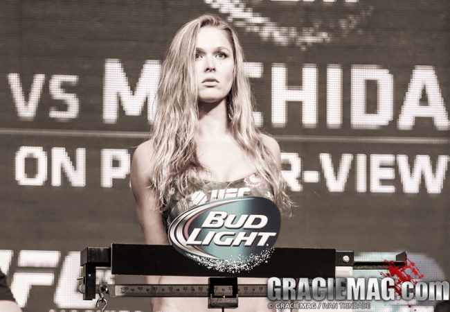Watch Ronda roll with Melendez after she said she could agree to a grappling superfight