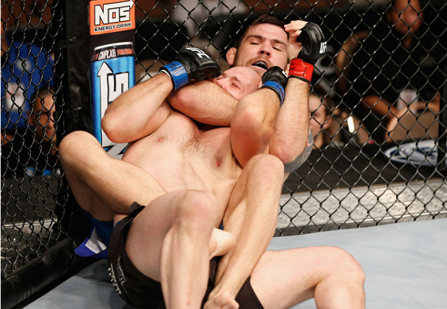 "Robert Drysdale and UFC debut: ""Getting the back is the essence of Jiu-Jitsu"""