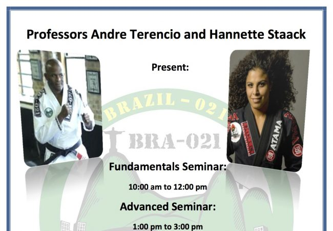 Toronto: Learn from Brazil-021 duo Andre Terencio & Hannette Staack on July 5