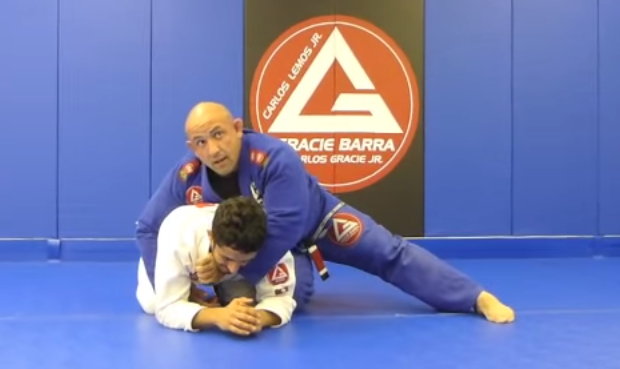Video: Orlando Sanchez teaches how to capitalize with a collar choke when opponent turtles