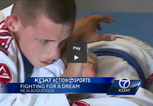 "Brendan Hussey, 16-year-old blue belt: ""Jiu-Jitsu makes me feel human"""